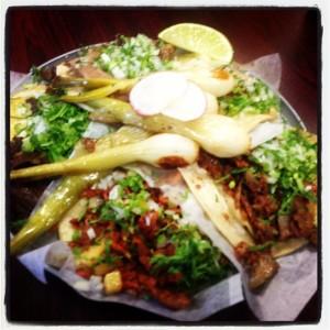 La Chaparritas Grocery tacos
