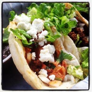 Jack & Ginger's tacos