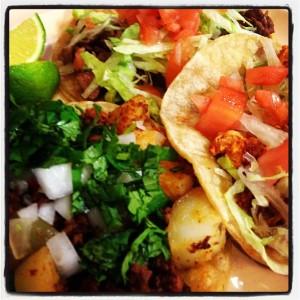 Taqueria Perejil tacos
