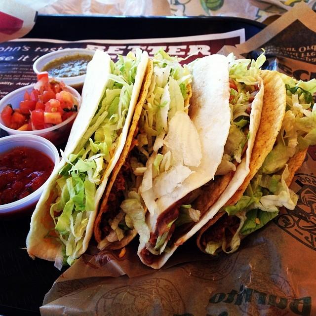 Taco johns street tacos