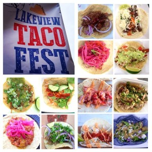 Start at 12 o'clock and go clockwise. Café Tola – birria (goat) Flaco's Tacas – grilled rib eye steak Mystic Celt – fried catfish Garifuna Flava – jerk chicken The Pony – pulled duck breast New England Seafood Company Fish Market & Restaurant – fried fish Café El Tapatio – deshebrada (short rib) Taco Joint – pork cochinita Tacos Nietos – al pastor Si Fu Chinese Latin Kitchen – mongolian beef New England Seafood Company Fish Market & Restaurant – lobster Newport Bar & Grill – soyracha chicken